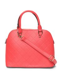 Tj Maxx - Multicolor Quilted Dome Satchel - Lyst