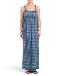 Tj Maxx - Blue Mineral Maxi Dress - Lyst