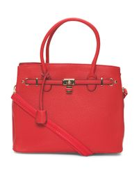 Tj Maxx - Red Tote With Lock - Lyst