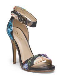 Tj Maxx - Multicolor Floral Print High Heel Sandal - Lyst