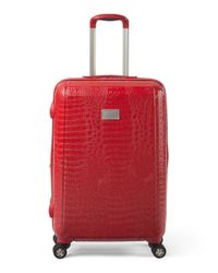 Tj Maxx - Red 25in Reptile Hardside Spinner - Lyst