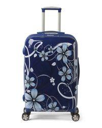 Tj Maxx - Blue 25in Floral Hardside Spinner - Lyst