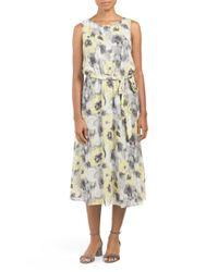 Tj Maxx - Multicolor Sleeveless Printed Dress - Lyst