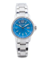 Tj Maxx - Women's Island Breeze Blue Dial Bracelet Watch - Lyst