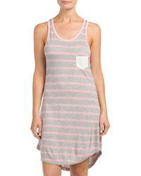 Tj Maxx - Pink Racerback Lounge Shirt - Lyst