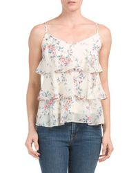 Tj Maxx - White Sleeveless Top - Lyst