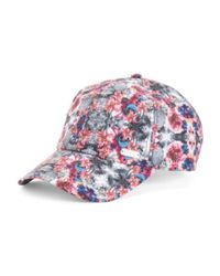 Tj Maxx - Pink Floral Adjustable Baseball Hat - Lyst