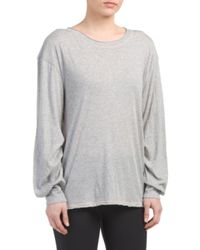 Tj Maxx - Gray Pivot Point Top - Lyst