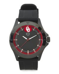 Tj Maxx - Men's Oklahoma Sooners Blackout Silicone Strap Watch for Men - Lyst