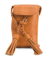 Tj Maxx - Orange Cell Phone Carrier Crossbody - Lyst