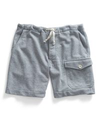 Todd Snyder - Gray Thorpe Gym Short In Grey Mix - Lyst