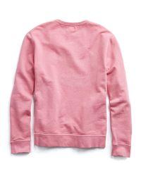Hartford - Red Sweat Feeling Groovy Sweatshirt - Lyst