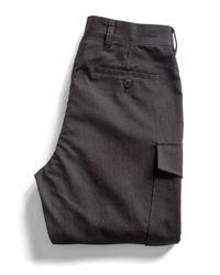 Todd Snyder - Black Officer Cargo Pant for Men - Lyst