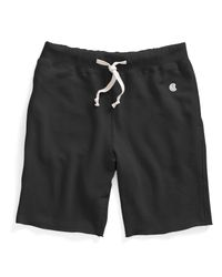 Todd Snyder | Cut Off Sweat Shorts In Black for Men | Lyst