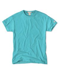 Todd Snyder - Green Classic Crew T-shirt In Aquamarine for Men - Lyst