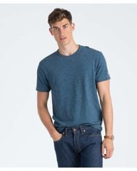 Todd Snyder - Blue Champion Classic T-shirt In Indigo Mix for Men - Lyst