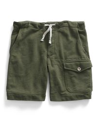 Lyst - Todd Snyder Thorpe Terry Gym Short In Washed Olive ...
