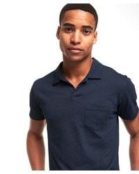 Todd Snyder - Blue Montauk Polo In Indigo for Men - Lyst