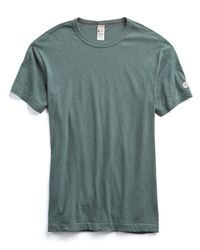 Todd Snyder - Blue Champion Classic T-shirt In Fatigue for Men - Lyst