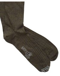 Corgi - Solid Forest Green Dress Socks for Men - Lyst