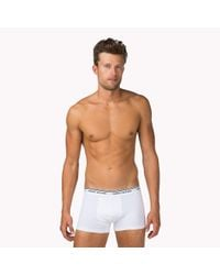 Tommy Hilfiger - Multicolor Classic Stretch 3-pack Trunks for Men - Lyst