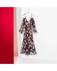 Tommy Hilfiger - Multicolor Tommy Tartan Silk Dress - Lyst
