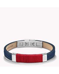 Tommy Hilfiger | Red Bracelet for Men | Lyst