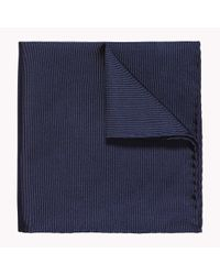 Tommy Hilfiger | Blue Silk Pocket Square for Men | Lyst