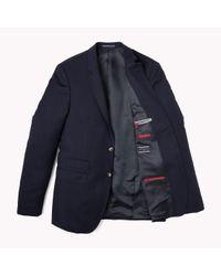 Tommy Hilfiger   Blue Suit Separate Slim Fit Blazer for Men   Lyst