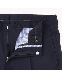 Tommy Hilfiger | Blue Suit Separate Slim Fit Trousers for Men | Lyst
