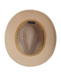 Tommy Bahama - Natural Cloth And Faux Suede Safari Hat for Men - Lyst
