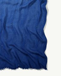 Tommy Bahama - Blue Sequin Dip-dye Oblong Scarf - Lyst