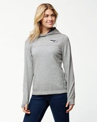 Tommy Bahama - Gray Nfl Tailgate Flip Side Reversible Hoodie - Lyst