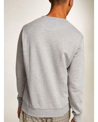 Topman - Gray Farah Light Grey Marl 'tim' Sweatshirt for Men - Lyst
