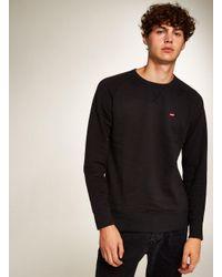Levi's - Black Icon Sweatshirt for Men - Lyst
