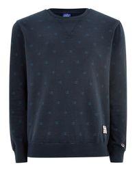 Topman - Blue Champion Navy Sweatshirt for Men - Lyst