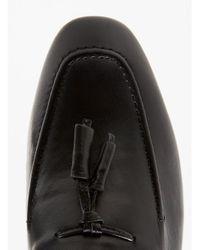 Hudson - Brown Black Leather Loafer for Men - Lyst