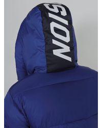 Topman - Vision Street Wear Blue Ripstop Puffer Jacket for Men - Lyst
