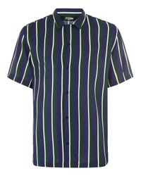 Jaded | Green Stripe Shirt for Men | Lyst