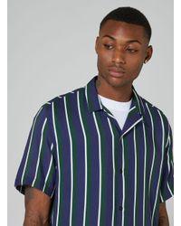 Jaded | Green Stripe Shirt for Men | Lyst
