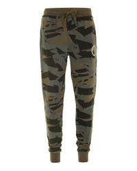 Criminal Damage | Natural Faded Camouflage Joggers* for Men | Lyst
