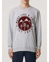 Art Disco - Gray Grey Sweatshirt* for Men - Lyst