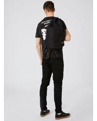 TOPMAN - Eastpak Black Drawstring Backpack for Men - Lyst