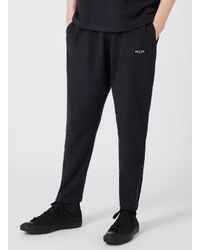 Nicce London - Blue Nicce Navy Boucle Textured Joggers for Men - Lyst