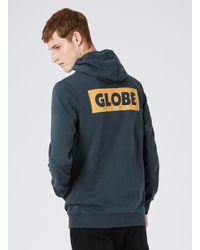 Globe - Gray Dark Blue Bar Hoodie* for Men - Lyst