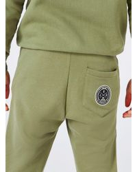 Jog On - Green Khaki Tailored Joggers* for Men - Lyst