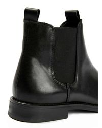 SELECTED - Black Chelsea Boots for Men - Lyst