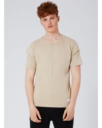 Criminal Damage - Brown Stone Cut T-shirt for Men - Lyst