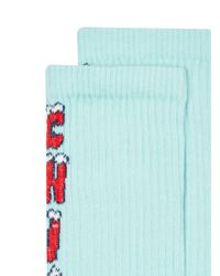 Topman - Blue Christmas 'chill' Tube Socks for Men - Lyst