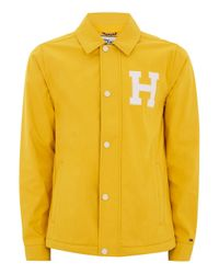 Tommy Hilfiger | Yellow Patch Jacket for Men | Lyst